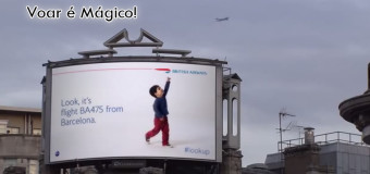 British Airways cria outdoor interativo